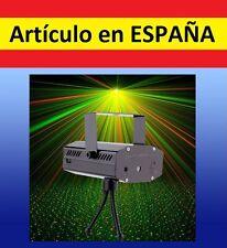 PROYECTOR luces LASER colores verde rojo automatico efectofiesta discoteca fiest