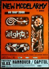 NEW MODEL ARMY - 2000 - Konzertplakat - Concert - Eight - Tourposter - Hannover