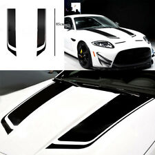 Black Stripe Auto Graphic decal Vinyl car truck body racing stripe universal