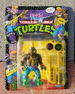 Vtg 1991 TMNT Rock'n Rollin Punker Don 5156 UNPUNCHED NIB NEW!!!