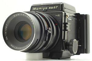 [NEA MINT] Mamiya RB67 Pro S Sekor C 127mm F3.8 Medium Format Camera From JAPAN