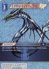 FOIL/HOLO Leviatano (2-140c) Final Fantasy TCG Opus II tedesco NUOVO topmint!