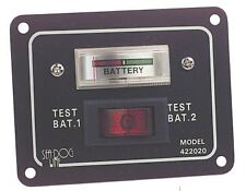 Aluminio prueba de batería Panel interruptor SeaWorld barcos marítimos