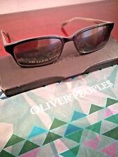 OLIVER PEOPLES:Designer Sunglasses Black Rectangle Grayson Marst 15858 (REDUCED)