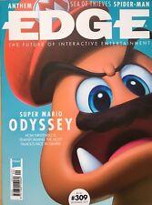 EDGE Magazine September 2017 Super Mario Odyssey Spider-Man Sea Of Thieves NEW 1