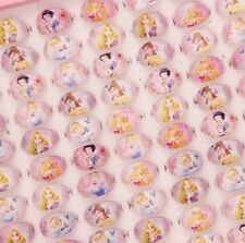10 Childs Rings Disney Princess. Party Bag Fillers. Xmas Stocking