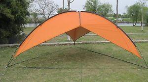 15' X 15' X 15' Triangle Outdoors Park Beach Canopy Tent sun shade, Orange