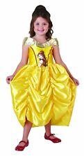 Rubies 3881857 Belle Big Print, Schöne und das Biest, Prinzessin Kinder Kostüm S