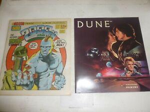 "2000 AD Comic - PROG 401 - WITH FREE ""DUNE"" PANINI ALBUM & STICKERS"