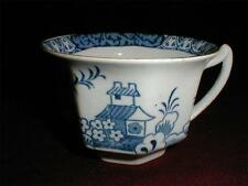Bow Porcelain Factory England Oriental Blue & White Multi-sided Cup 1747-1764