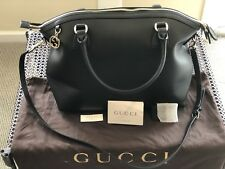 $1300 AUTHENTIC GUCCI LEATHER TOTE BAG PERFECT CONDITION NEVER WORN OR USED