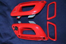 vw corrado TÜRGRIFFE INNEN rot lackiert FACELIFT  g60 g40 vr6 16V 2,0 jet