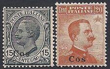 EGEO COO 1921/22 - V. EMANUELE III n. 10/11 NUOVI € 400