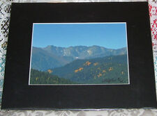 PHOTO ART PONDER POINT ARAPAHO NAT FOREST CO 5X7 MATTED 8X10 SIGNED #3/75