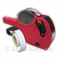 Motex CT1 21 x 12mm Punch Hole Price Marking Gun,1 Roll Labels, 6 Track Econoply