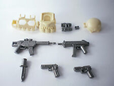 (no.8) custom  NAVY SEAL gun army weapons swat policefor LEGO minifigure