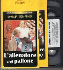 L' allenatore nel pallone (1984) VHS  editoriale + libretto