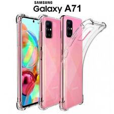 Funda Gel TPU Transparente Antigolpes para Samsung Galaxy A71