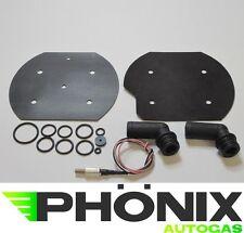 KME Autogas Verdampfer Reparatur-Kit inkl Temperatursensor+2x Wasseranschluß LPG