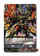 Cardfight Vanguard  x 4 Amber Dragon, Midnight - G-LD02/003EN - RRR Pack Fresh M