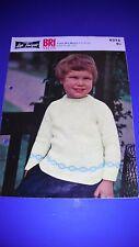 Lister LEE Suéter Tejer patrón de niños 6275