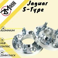 Jaguar S-Type 5x108 25mm Hubcentric wheel spacers 1 pair - UK MADE