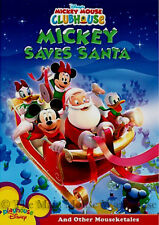Mickey Mouse Clubhouse Christmas DVD Mickey Saves Santa and Other Mouseketales
