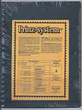 "Prinz (Hagner-style) Single-side B4 Stock Sheets (8½""x11"") 10 Pack Free Shipping"