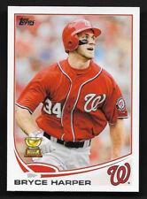 2013 Topps Baseball Series 1 # 1 BRYCE HARPER Washington Nationals Rookie Cup