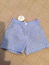 Charabia Blue Shorts - Girl's Size 12 -  NWT
