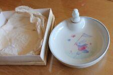 belle assiette a bouillie pour bébé un lapin pocelaine france pillivuyt