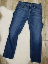 7 For All Mankind Kimmie Crop Women's Size 27 Jeans Blue Seven