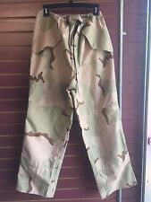 TROUSERS, COLD WEATHER, CAMOUFLAGE, GORTEX RAIN PANTS - NEW WITHOUT TAGS