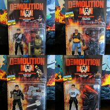 1993 Demolition Man Lot of 4 - Brand New Mattel
