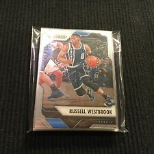 2016-17 PANINI PRIZM OKLAHOMA CITY THUNDER TEAM SET 10 CARDS RUSSELL WESTBROOK +