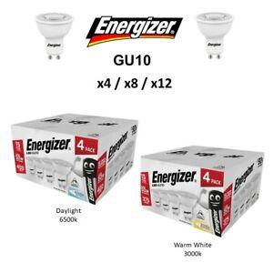 ENERGIZER GU10 LED 4.6W 50W Spot Bulb Down Light Lamp Warm White Cool Daylight