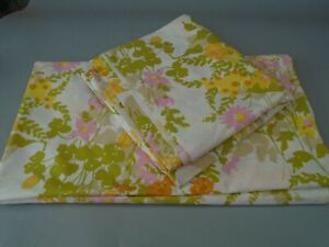 1960's HORROCKSES DOUBLE  BED SHEETS