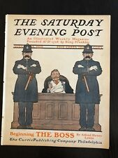 Illustrated  Saturday Evening Post Aug. 15,1903 J.J.Gould and G.Moore Cover Art