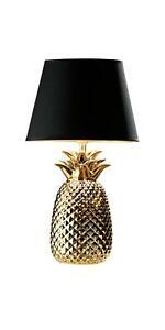 LIVARNO LUX® Tischleuchte Ananas gold Nachttischlampe Tischlampe *B-Ware