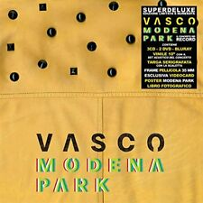 "Vasco Modena Park 3 CD + 2 DVD + Blu-Ray Disc + Vinile 10"" - Box Superdeluxe"