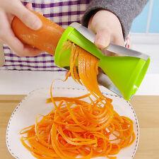 NEW Cutter Slicer Peeler Twister Spiral Vegetable Grater Spiralizer Fruit Tool
