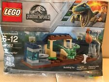 LEGO Jurassic World  BABY VELOCIRAPTOR PLAYPEN # 30382  NEW