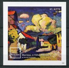 St Kitts 2016 MNH World Famous Paintings Wassily Kandinsky 1v Impf S/S II Stamps
