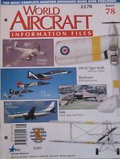 World Aircraft Information Files Issue 78 Handley Page Halifax cutaway & poster