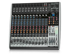 Behringer XENYX X2442USB 24 Input Bus MIxer XENYX Mic Preamps & Compressors