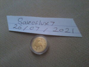 2021 1/10 Ounce Perth Mint Year of the Ox Gold Coin