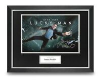James Nesbitt Signed 16x12 Framed Photo Display Lucky Man Autograph Memorabilia