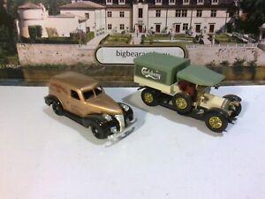 2 Diecast Vehicles 1 Carlsberg Truck & 1 Chevrolet 1939 van.