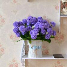 10 Heads Wedding Artificial Silk Hydrangea Posy Flower Bouquet Home Party Decor~