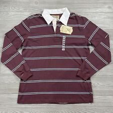 Vintage Steve & Barrys Rugby Shirt Mens XL Striped Deadstock New 90s  F81